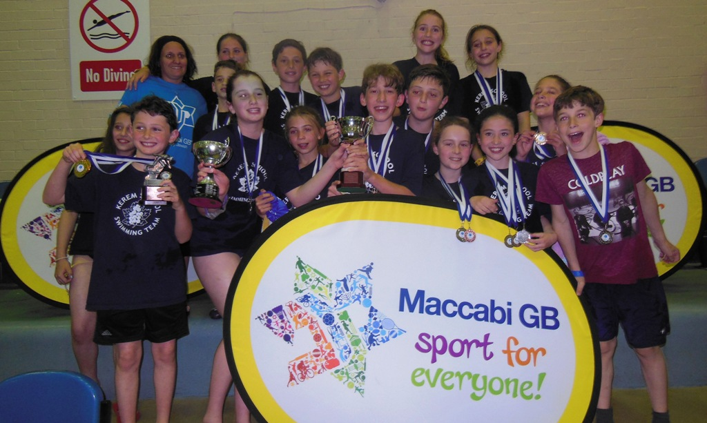 History Made At This Year 39 S Simchat Hamayim As Rosh Pinah And Kerem Share First Place Maccabi Gb