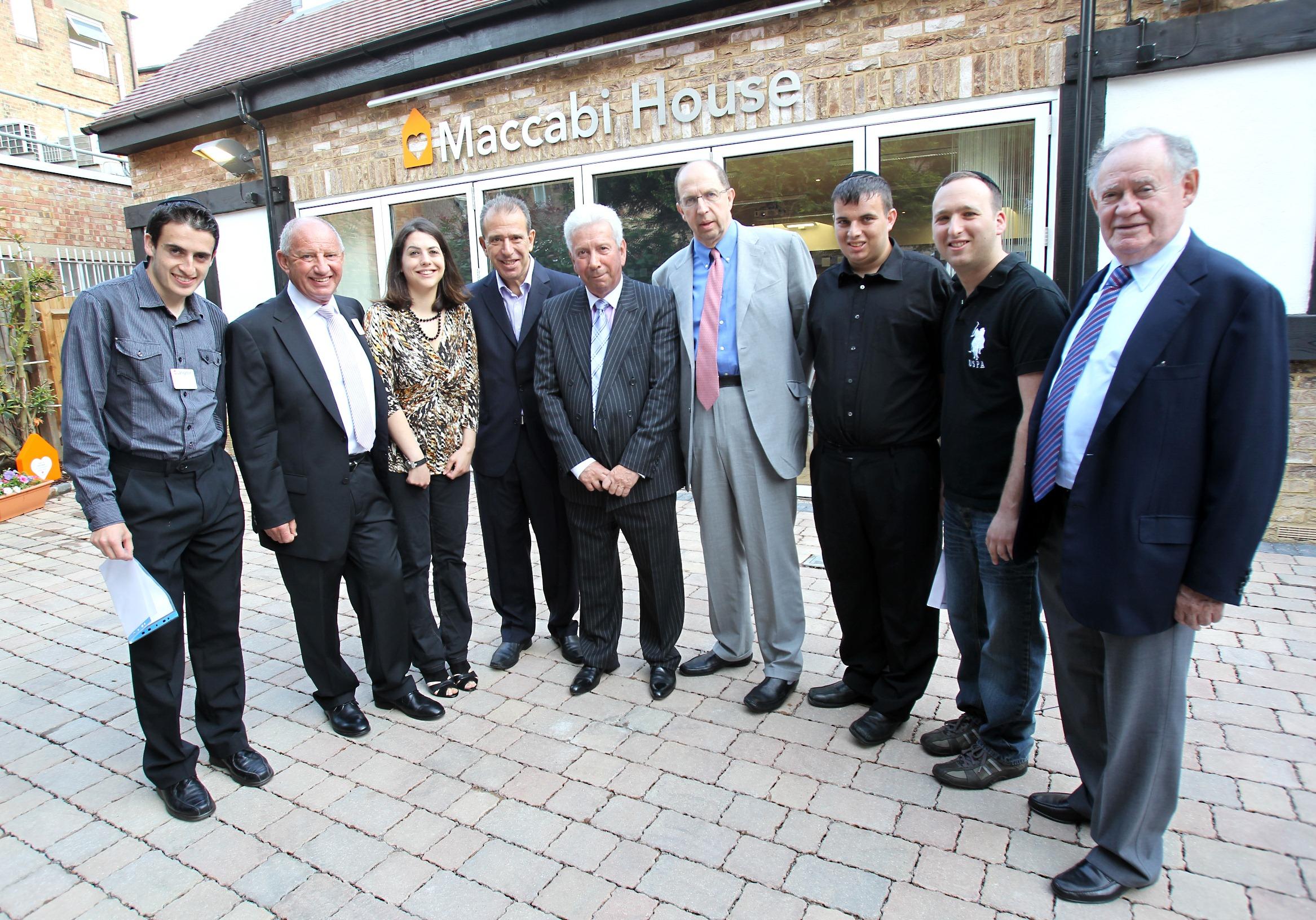 Opening of Maccabi House