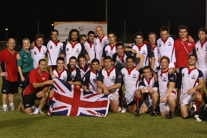 Silver medal winning team from 2009