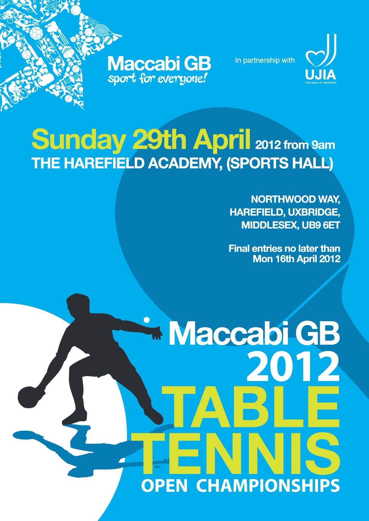 table tennis tournament template - maccabi gb table tennis open championships 2012 maccabi gb