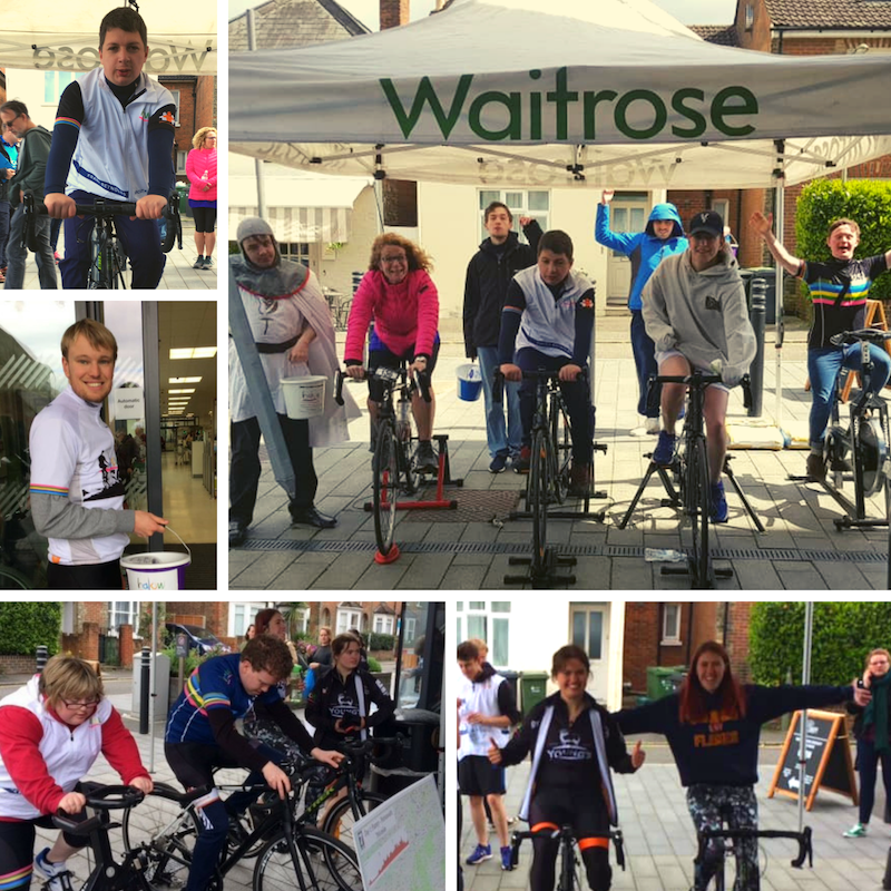 Waitrose Static Bike Ride 2019