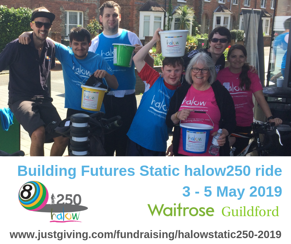 Building Futures Static halow250 bike ride