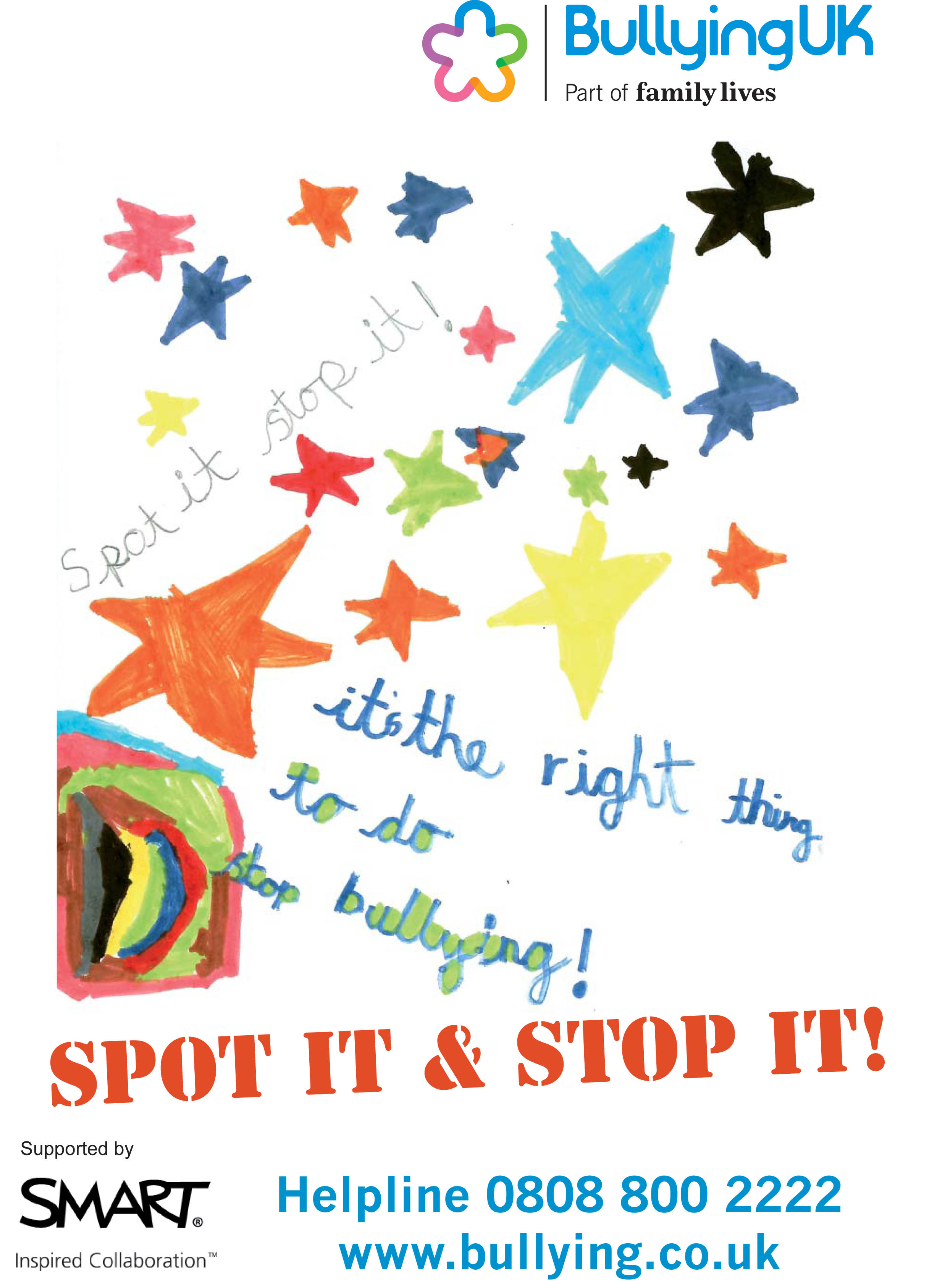 Poster design ks2 - Category One Winning Poster Category Two Winning Poster Download Your Billy Anti Bullying Poster Download Your Nelly Poster Here