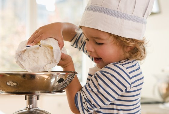 Child flour