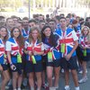 Team Maccabi GB lines up before the Opening Ceremony of the 2013 JCC Maccabi Games cropped.jpg