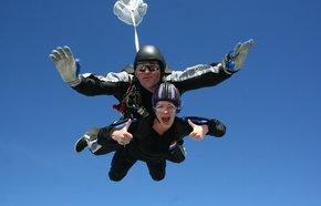 Rebecca Shuttle skydive