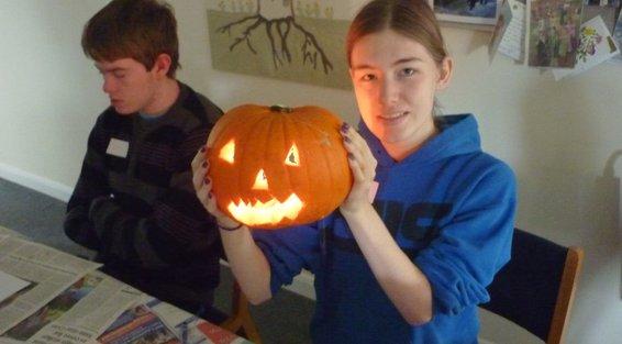 nice pumpkin