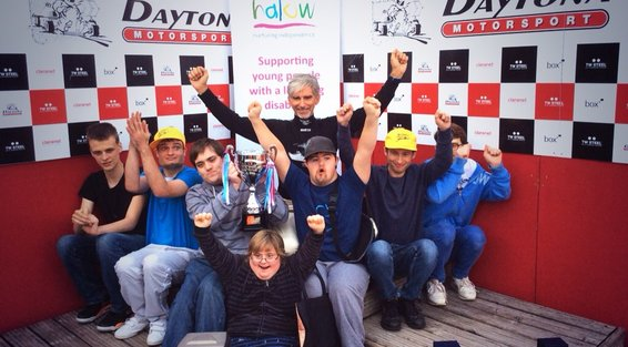 Damon hill karting challenge 2014 halow project for Domon olivier