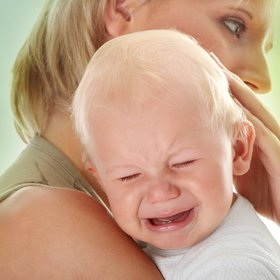 Controlled crying baby pic