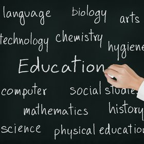 Education blackboard