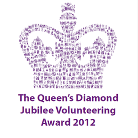queen's diamond jubilee volunteering award 2012