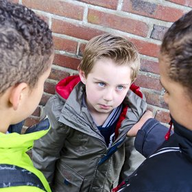 bullying surveys boy being bullied