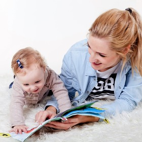 mum reading with your child
