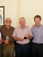 Brian Leader Cramer, Barrie Levey, David Schneiderman, Laurence Raymond, Stephen Arnold - winners of the four ball.JPG