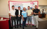 Lloyd Botchin with winning team - Jack Lennon, Geraint Watkins, Simon Williams & Tyrone Long from Genesis Advisory Service.jpg