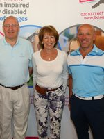 Malcolm Ozin MBE with organisors Steve Crawford & Lloyd Botchin and Linda Goss.jpg