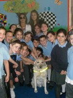 Wolfson Hillel Pupils with Louise, Danielle & Pippin.JPG