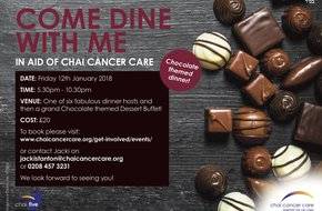 Chai Five's Chocolate themed Come Dine with me Friday Night!