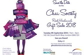Chai Society Rosh Hashanah Gift Sale