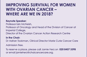 The 2018 Natalie Shipman Memorial Lecture - Improving survival for women with Ovarian cancer - where are we in 2018?