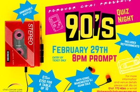 Forever Chai Presents... 90's Quiz Night