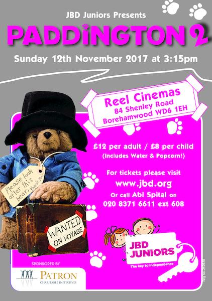 JBD Juniors presents Paddington Bear 2