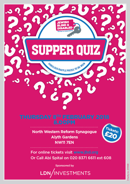 Supper Quiz 2018