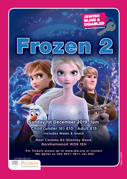 Jewish Blind & Disabled presents Frozen 2
