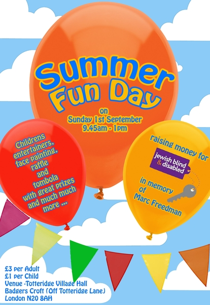Summer Fun Day hosted by Tory & Richard Benson