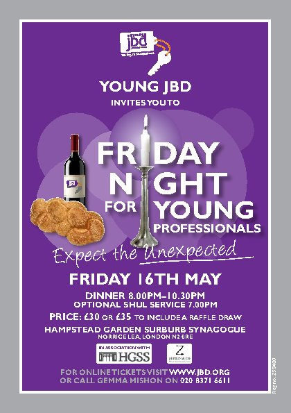 Friday Night Dinner for Young Professionals- TICKET LINK IS NOW CLOSED!!!!