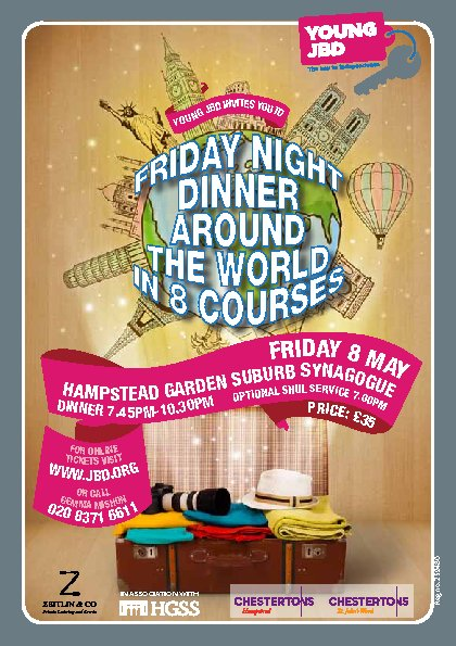 Young JBD - Friday Night Dinner Around the World in 8 Courses