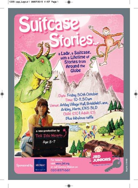 JBD Juniors Suitcase Stories