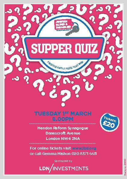 Supper Quiz
