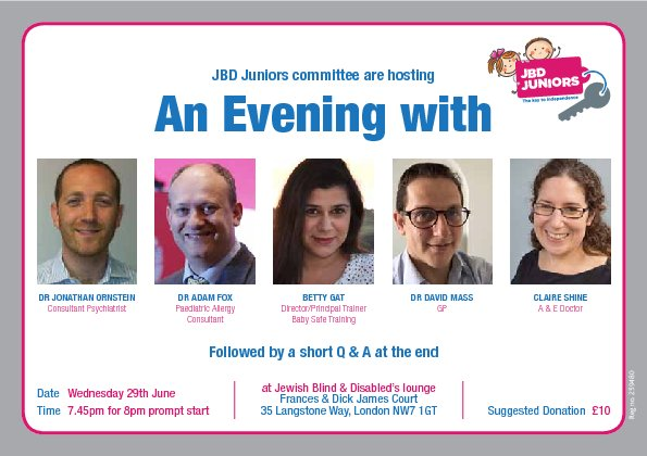 JBD Juniors'  - An Evening with Professionals