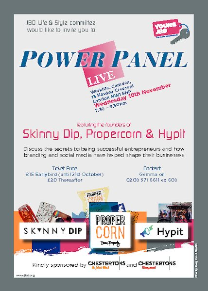 JBD Life & Style Committee - Power Panel